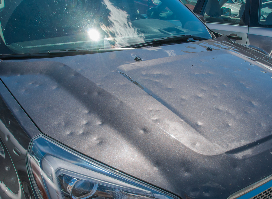 Hail damage? We'll repair your ride quickly.